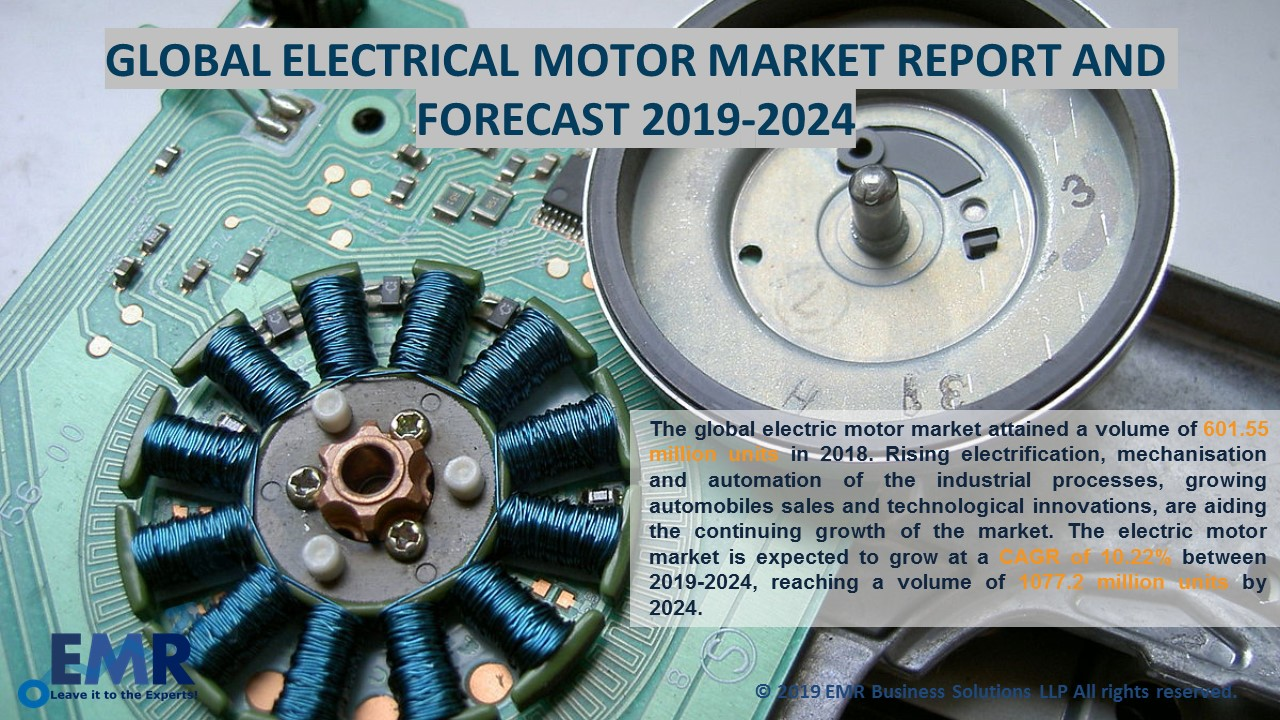 Global Electric Motor Market Report & Forecast 2019-2024