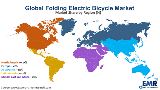 Folding Electric Bicycle Market by Region