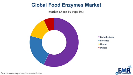 Food Enzymes Market by Type