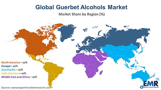 Global Guerbet Alcohols Market By Region