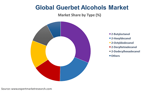Global Guerbet Alcohols Market By Type