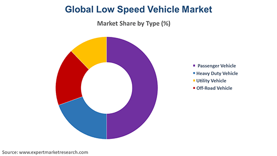 Global Low Speed Vehicle Market By Type