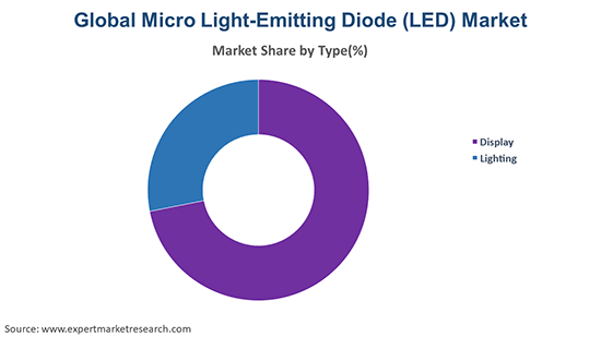 Global Micro Light-Emitting Diode (LED) Market By Type