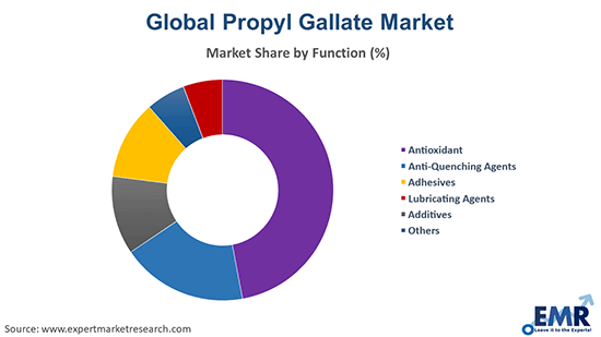 Propyl Gallate Market by Function