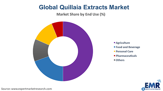 Global Quillaia Extracts Market by End Use