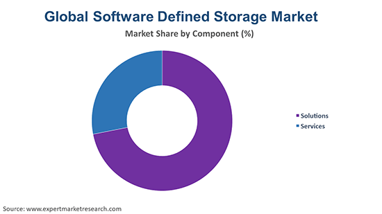 Global Software-Defined Storage Market By Component