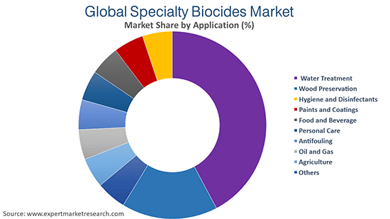 Global Specialty Biocides Market By Application