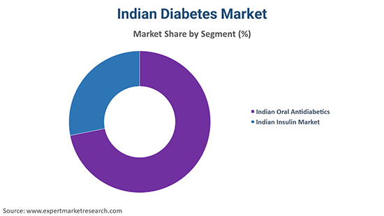 Indian Diabetes Market By Segment