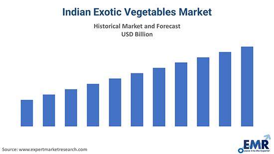 Indian Exotic Vegetables Market