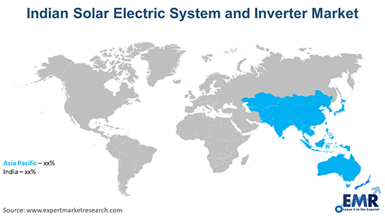 Indian Solar Electric System and Inverter Market By Region