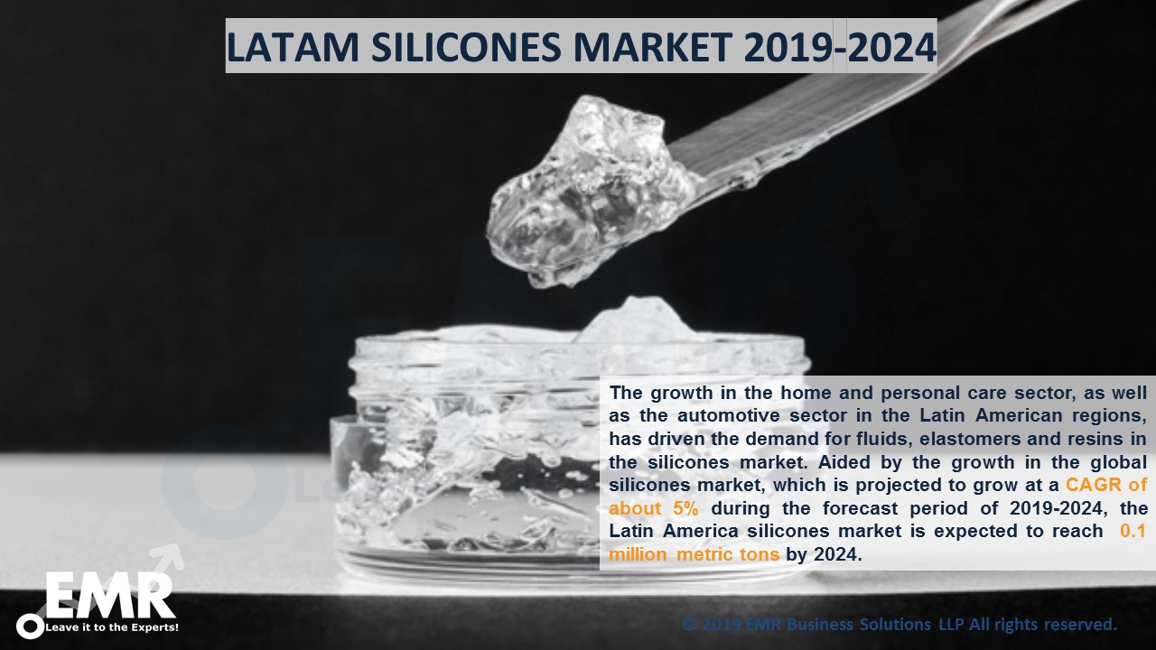 LATAM Silicones Market Report and Forecast 2019-2024