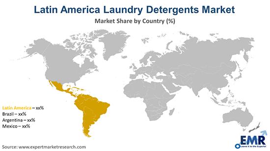 Latin America Laundry Detergents Market By Region