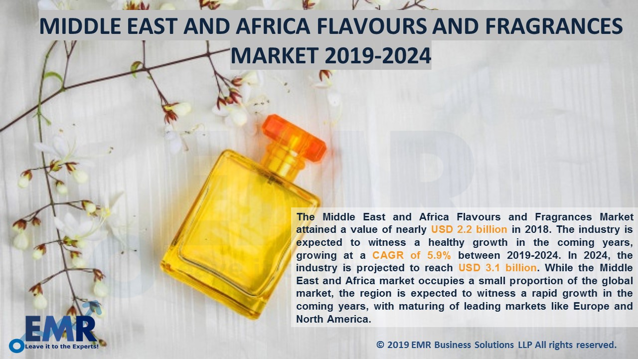 Middle East and Africa Flavour & Fragrnce Market Report and Forecast 2019-2024