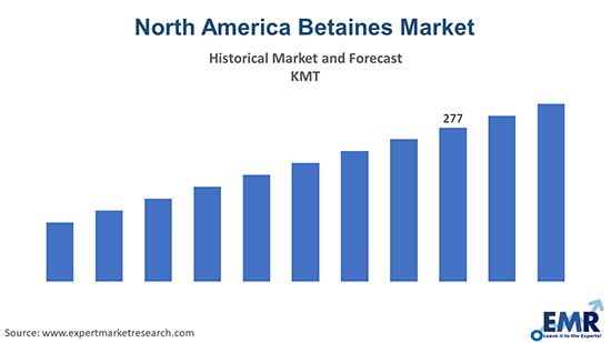 North America Betaines Market