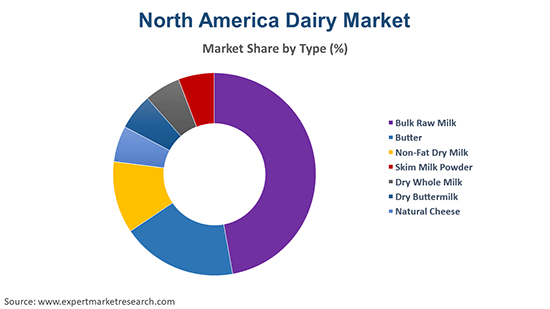 North America Dairy Market By Type