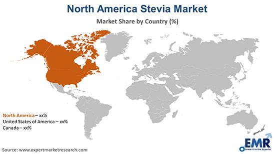 North America Stevia Market By Region