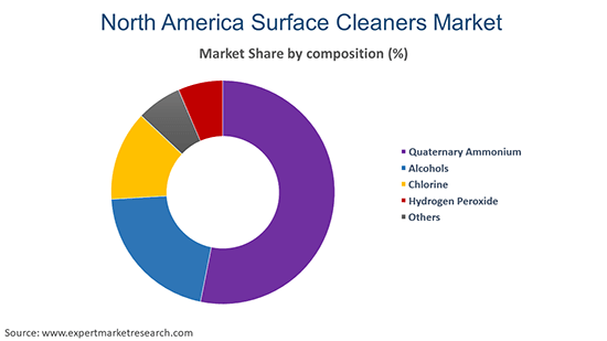 North America Surface Cleaners Market by Composition