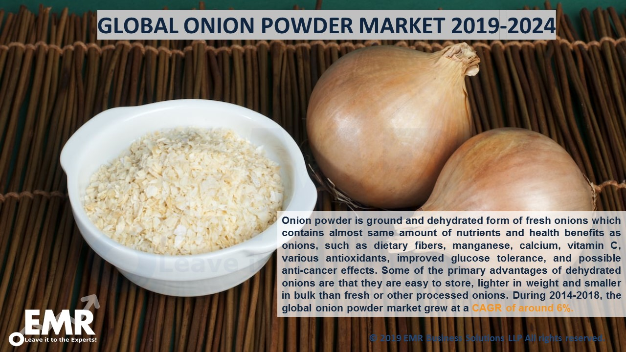 Onion Powder Market Report and Forecast 2019-2024
