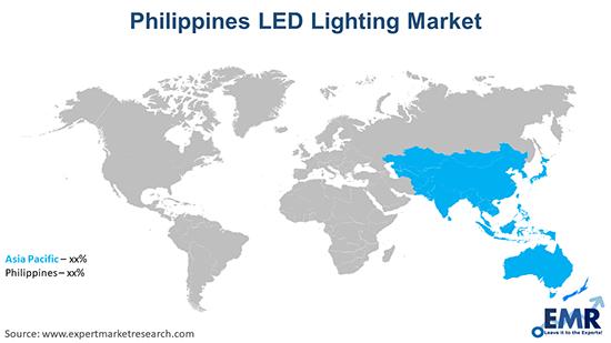 Philippines LED Lighting Market By Region