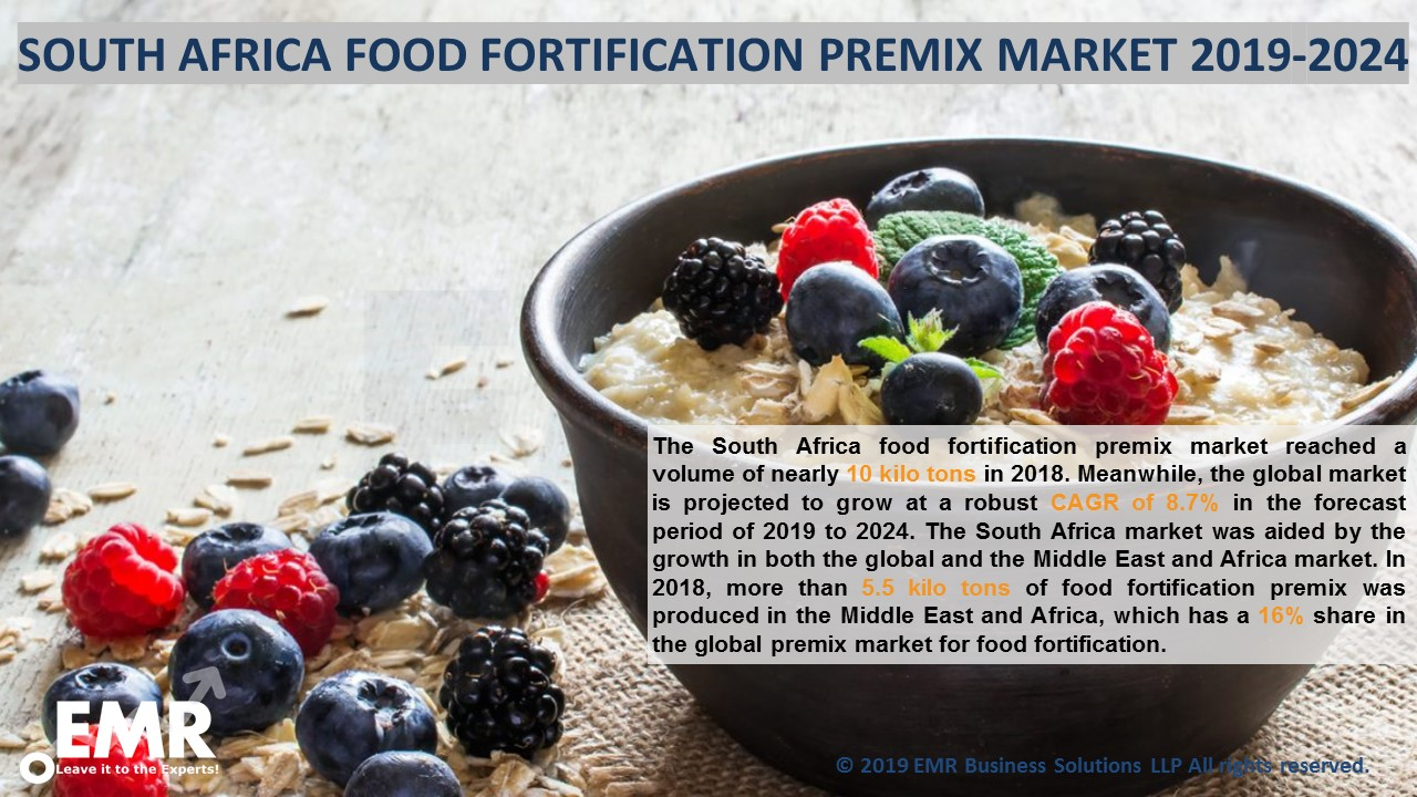 South Africa Food Fortification Premix Market Report & Forecast 2019-2024