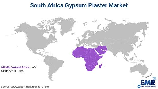 South Africa Gypsum Plaster Market By Region