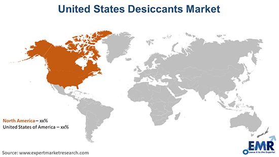 United States Desiccants Market By Region