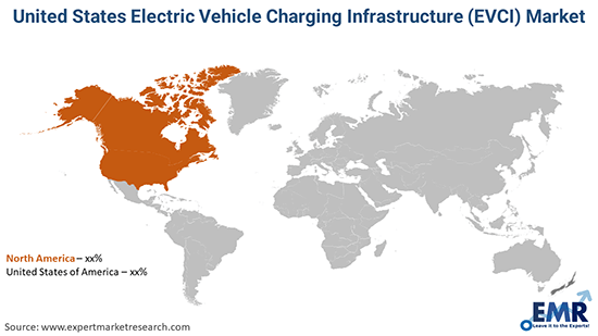 United States Electric Vehicle Charging Infrastructure (EVCI) Market By Region