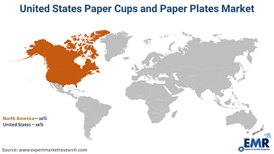 United States Paper Cups and Paper Plates Market By Region