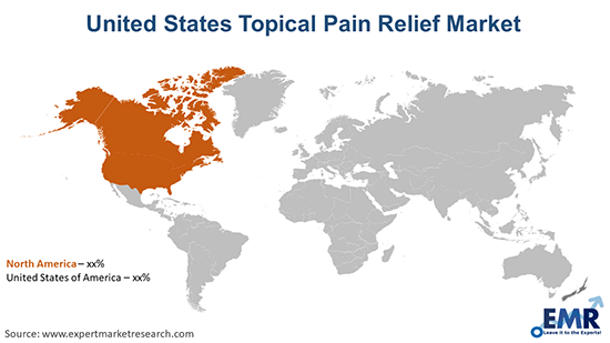 United States Topical Pain Relief Market By Region